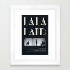 La La Land - Audition Framed Art Print