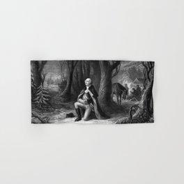 General Washington Praying At Valley Forge Hand & Bath Towel