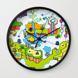 Super Sky World Wall Clock
