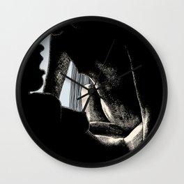 asc 440 - La lumière du matin (The morning light) Wall Clock