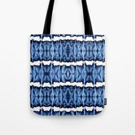 Tie-Dye Shibori Satinete Tote Bag