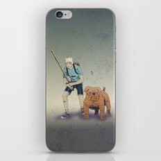 Time for Adventuring iPhone & iPod Skin