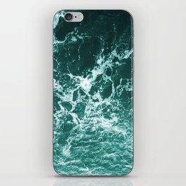 Upside Down Sea Water Splash iPhone Skin