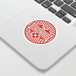 Denmark De Rød-Hvide (The Red-White) ~Group C~ Sticker