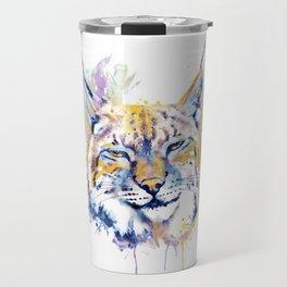 Bobcat Head Travel Mug