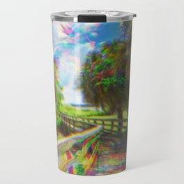 Trippy Walkway Travel Mug