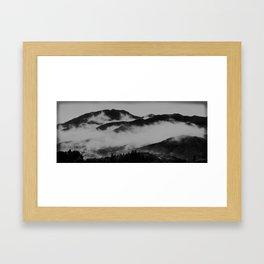Comfort Clouds (Japan) Framed Art Print