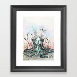 Sweety from the Black Lagoon Framed Art Print