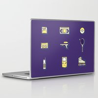 90s Laptop & iPad Skins featuring 90s Stuff by POP Collective