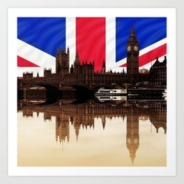 British politics Art Print