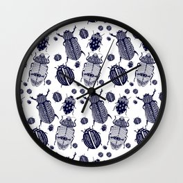 Creepy Crawlies Wall Clock