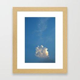 Inner Sky - Cloud Nine Framed Art Print