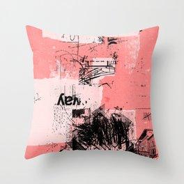 misprint 80 Throw Pillow
