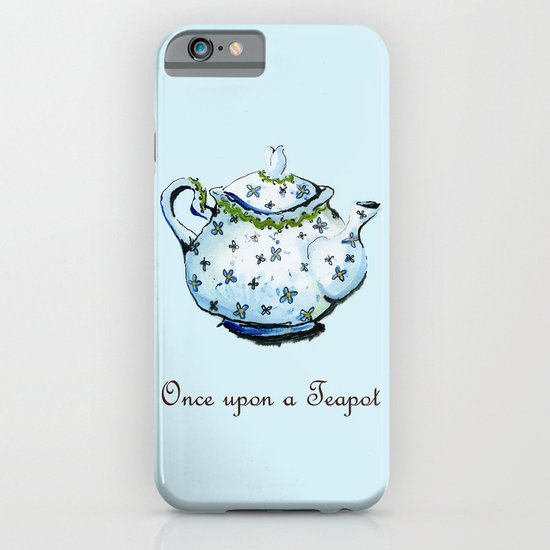 Once Upon A Teapot iPhone & iPod Case