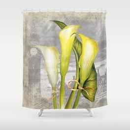 Macro Flower #8 Shower Curtain