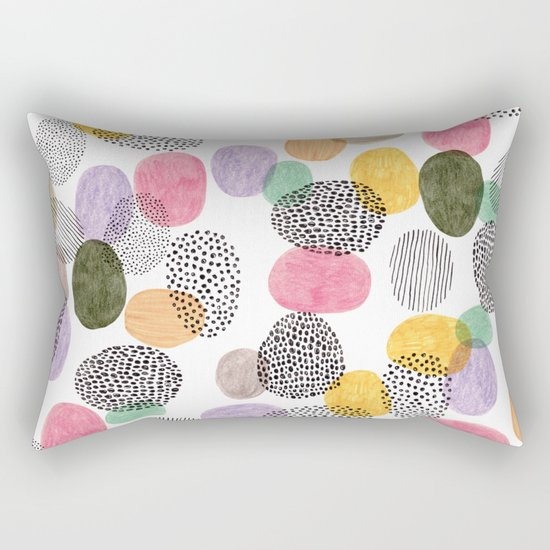 Bolls by Veronique de Jong Rectangular Pillow