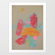 Rocks 1 Art Print
