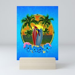 Tropical Sunset Mini Art Print