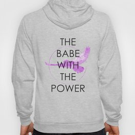 The Babe With The Power (Labyrinth) Hoody