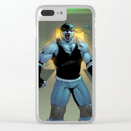 The Bear Roars Clear iPhone Case