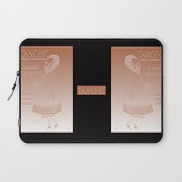 Tangent Metallic Welsh Gold Effect Laptop Sleeve