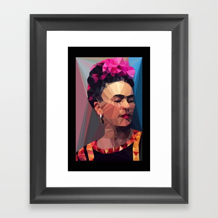 Techy Fridart Framed Art Print