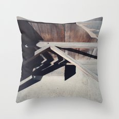 joinery Throw Pillow