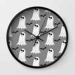 Halloween ghosts | Halloween Bats | Batcave Wall Clock