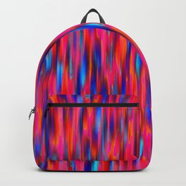 primary verticals pink Backpack