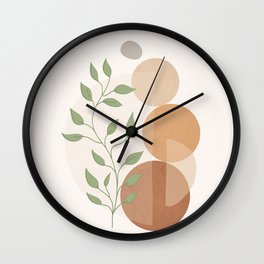 Abstract Rock Geometry 19 Wall Clock