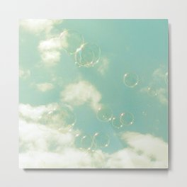 there was a bright light Metal Print
