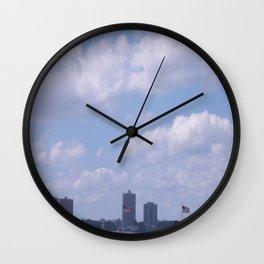 New York Cityscape Wall Clock
