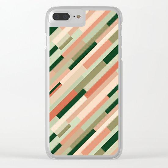 Retrometry XI Clear iPhone Case