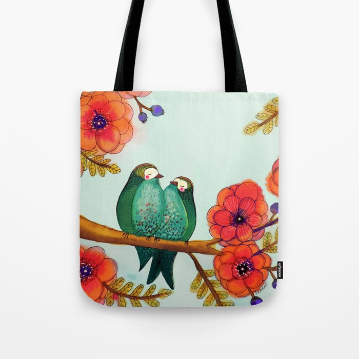 feather bellies Tote Bag