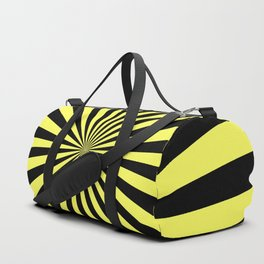 Starburst (Black & Yellow Pattern) Duffle Bag