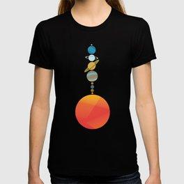 Solar System 2 T-shirt