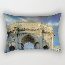 Arco di costantino Rectangular Pillow