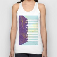 good vibes Tank Tops featuring GOOD VIBES by Urban Artist