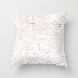 NV Stockton Well 320193 1985 24000 geo Throw Pillow