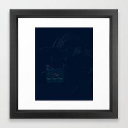 Engine Datas Framed Art Print