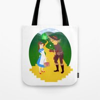 oz Tote Bags featuring Oz by Kyrstin Avello