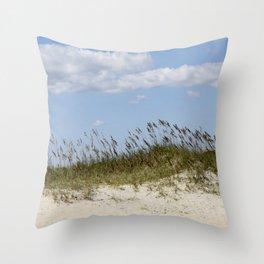 Kure Beach #1 Throw Pillow