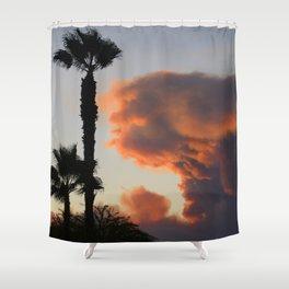 Fire Cloud (Pyrocumulus Cloud) in Cherry Valley, California Shower Curtain