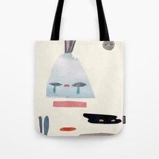 volacno and moon Tote Bag