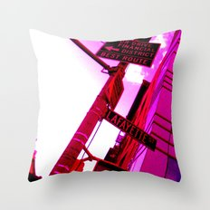 Best Route Throw Pillow