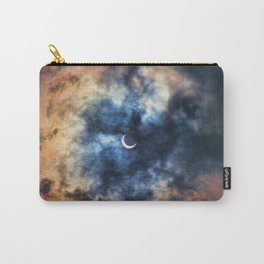 Night Moves - Partial Solar Eclipse Carry-All Pouch