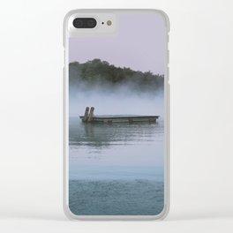Lake Desolation Clear iPhone Case