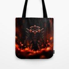 Demon Knight Tote Bag