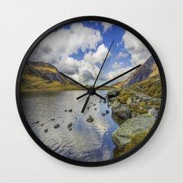 Lake Idwal Wall Clock