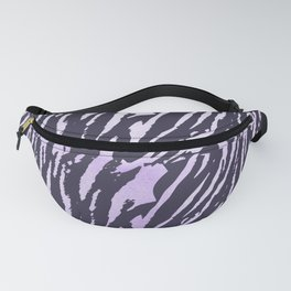 Tiger Rose Watercolor Gradient Fanny Pack